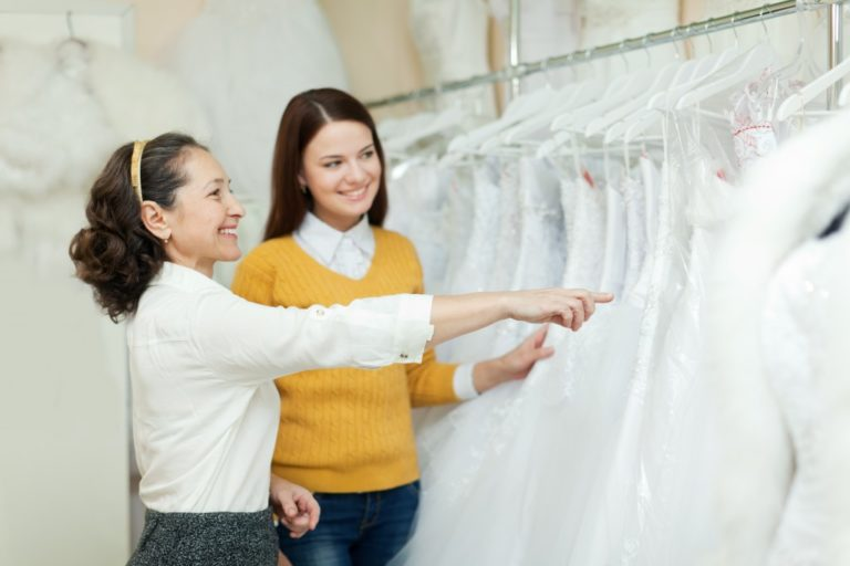 buying a wedding dress