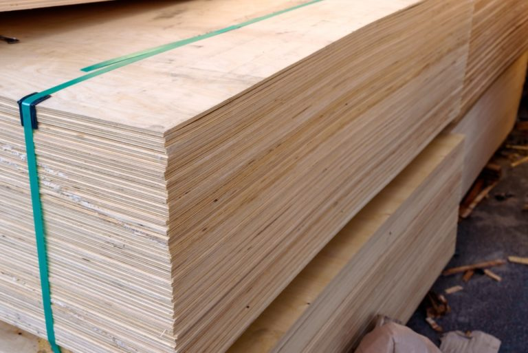 A Stack of Plywood