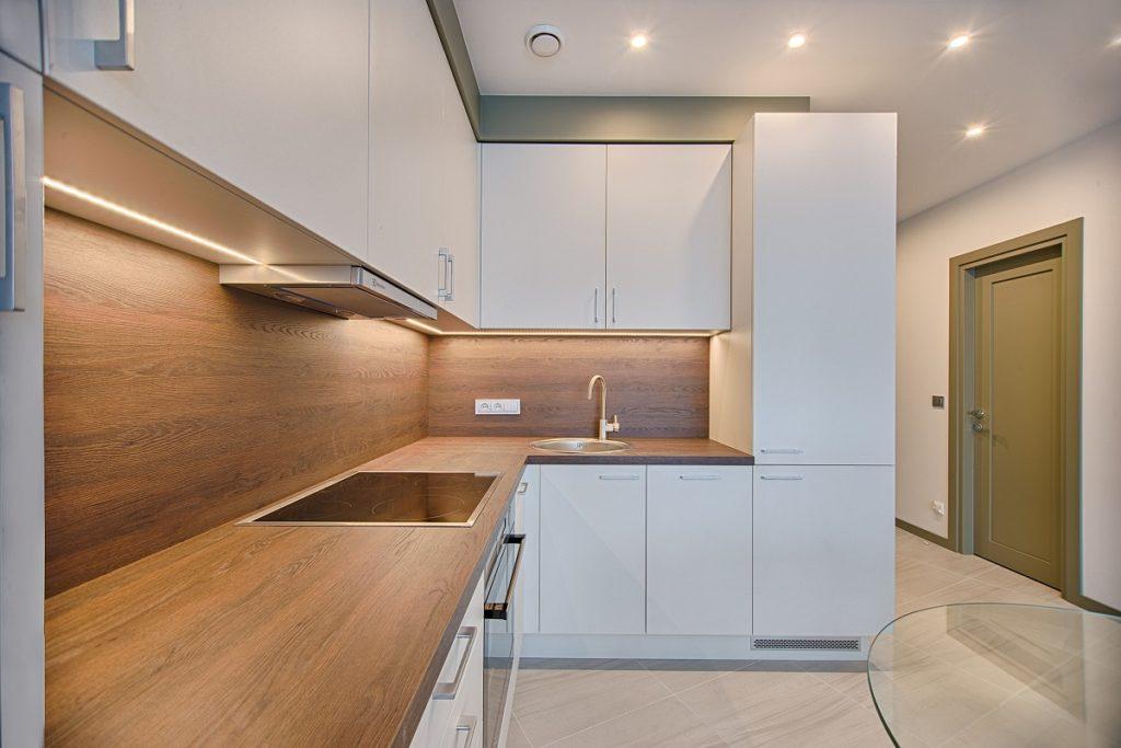 empty kitchen interior