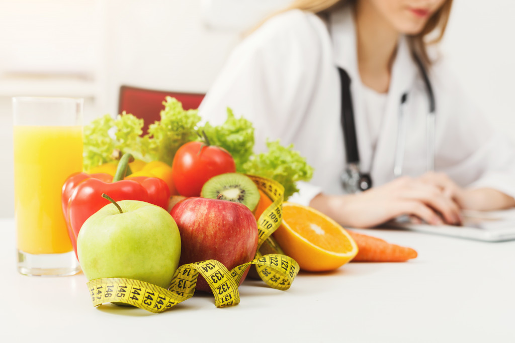 healthy foods with doctor